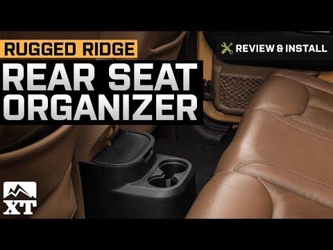 Jeep Wrangler Rugged Ridge Rear Seat Organizer (2011-2017 JK 4-Door) Review & Install