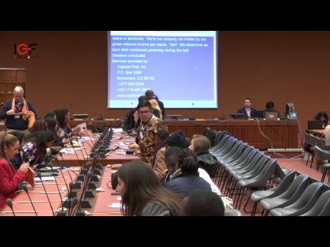 Small Island Developing States (SIDS) Roundtable: Are we running out of resources and bandwidth?