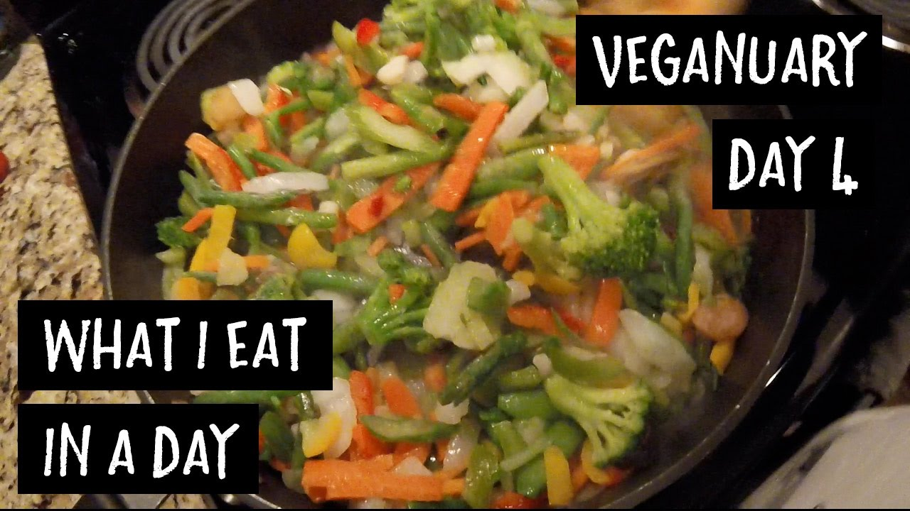 EATING ALL THE VEGGIES | VEGANUARY DAY 4