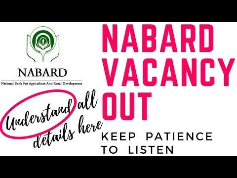 NABARD RECRUITMENT 2018 | NABARD VACANCIES 2018 | NABARD EXAM NOTIFICATIONS 2018