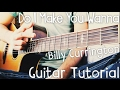 Download Video Do I Make You Wanna Guitar Tutorial by Billy Currington // Billy Currington Guitar Lesson!
