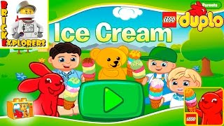LEGO DUPLO Ice Cream funny game for Kids