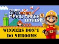 Amazing Super Mario Maker levels: Winners don't do shrooms