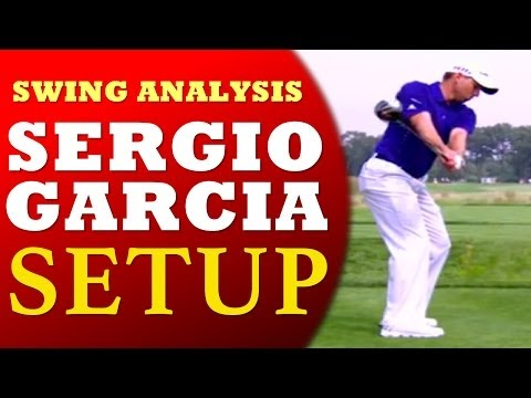 Sergio Garcia Golf Instruction – Setup 1 (Golf's #1 Lag Instructor Clay Ballard)