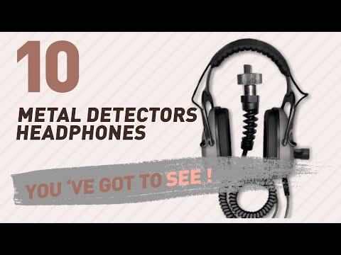 Metal Detectors Headphones // New & Popular 2017