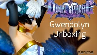 Odin Sphere - Gwendolyn 1/8 Complete Figure PVC Pre-painted Complete Figure Scale: 1/8 Size: Approx. H350mm (including weapon, base) [Set Contents] -Main fig...
