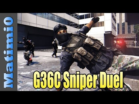 Sniper - Today I'm using the G36C Sniper loadout and having a duel with Levelcap in Battlefield 4. Double vision is a series where Levelcap and I switch between our viewpoints throughout the round....