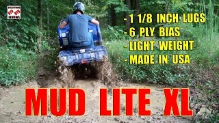 7. ITP MUD LITE XL Test Review - Maxxis Zilla Competition for Mud Slinging Lite Weight ATV Tire