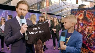 Download Video Kid Movie Expert Britton Walker Goes to the 'Avengers: Infinity War' Premiere MP3 3GP MP4