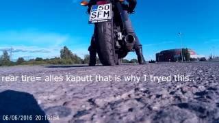 8. Can a dct ctx700 bike do a burnout ?