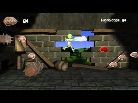 Video of Bouncing Zombie - Hard Game