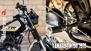 9. Yamaha TW200 The Forgotten Dual Sport 2020