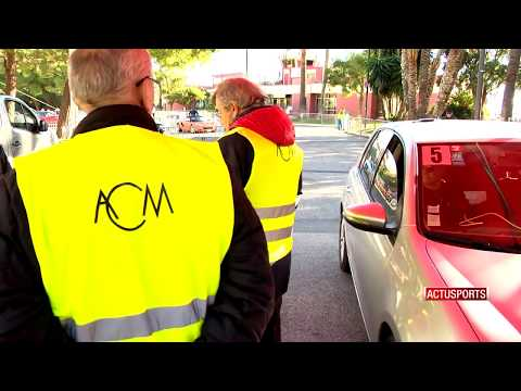 Motor sport: training for track marshals