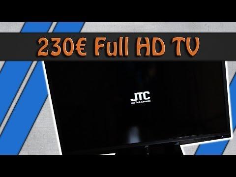 230€ FullHD Fernseher Unboxing / Erster Eindruck