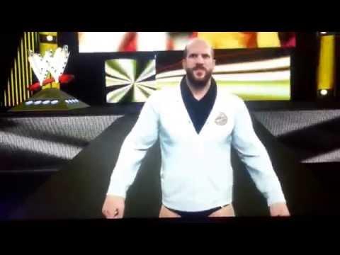 WWE 2K15 Leaked Cesaro Full Entrance Gamescom 2014
