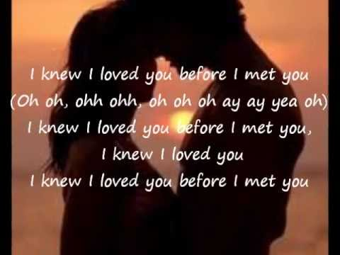 Video Savage Garden-I Knew I Loved You lyrics download in MP3, 3GP, MP4, WEBM, AVI, FLV January 2017