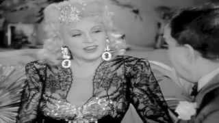 Stunning MAE WEST sexy dancing 1940's