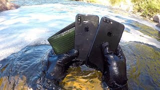 Video I Found an iPhone X, iPhone 7+ and Wallet Underwater in the River! (River Treasure) MP3, 3GP, MP4, WEBM, AVI, FLV Oktober 2018