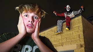 CREEPY CLOWN ATTACKS HOUSE DURING HIDE AND SEEK AT 3AM!