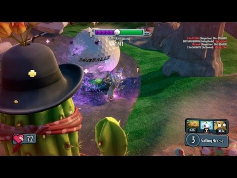 Plants vs. Zombies: Garden Warfare - The Cactus Canyon Finale