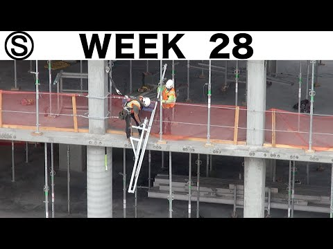 One-week construction time-lapse with closeups: Week 28 of the Ⓢ-series