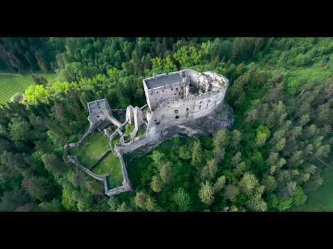 Likavský hrad je opradený legendami, baštu mali postaviť z vajec a vína