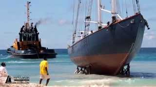 Video Launching the Schooner SV Ruth in Barbados MP3, 3GP, MP4, WEBM, AVI, FLV Juli 2018