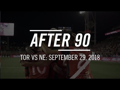 Video: After 90: New England Revolution at Toronto FC