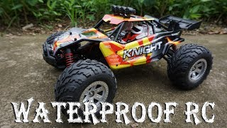 Unboxing Remote Control Car Land & Water 1:12 Scale IP4 Waterproof Electronics High Speed Off-Road. - You can get Here...