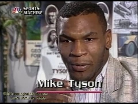 1986. - boxinghalloffame.com Mike Tyson was not yet champion. In 1986, George Michael hosted the popular