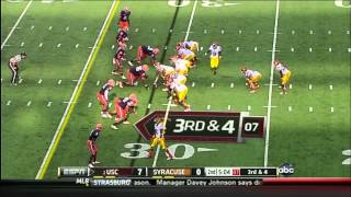 Matt Barkley vs Syracuse (2012)