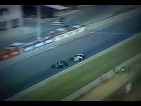 piquet vs senna - sorpasso con derapata al gp di ungheria del 1986