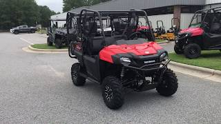 7. 2018 Honda Pioneer 700-Deluxe Pearl Orange