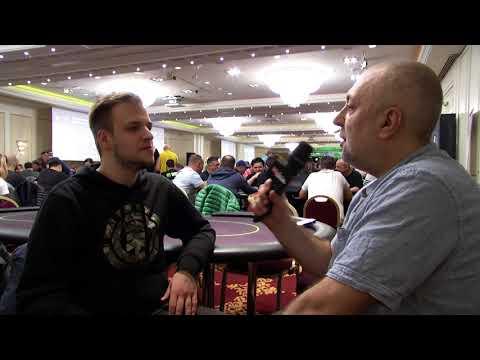 Cătălin Pop, interviu savuros la Unibet Open București 2017