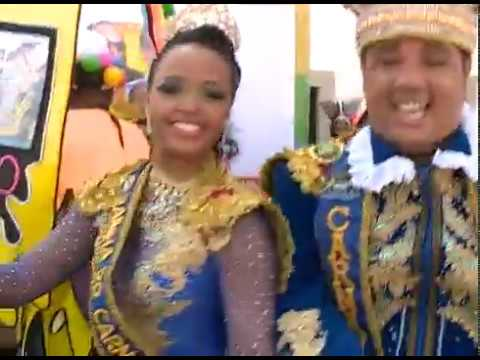 Rei Momo e Rainha do Carnaval do Recife contam como foi a preparação para o desfile do Galo da Madrugada