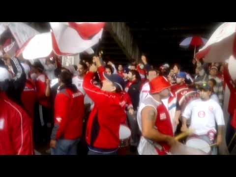 moron vs chicagon (fiesta abajo de la tribuna) parte4 - Los Borrachos de Morón - Deportivo Morón