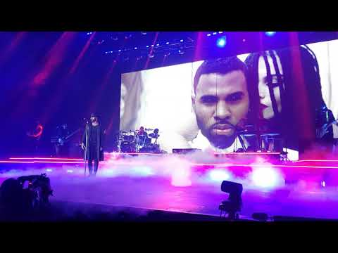 Jason Derulo 2Sides Tour - IF I'M LUCKY / CHEYENNE live - Oberhausen 03.10.2018 Germany (Front Row)