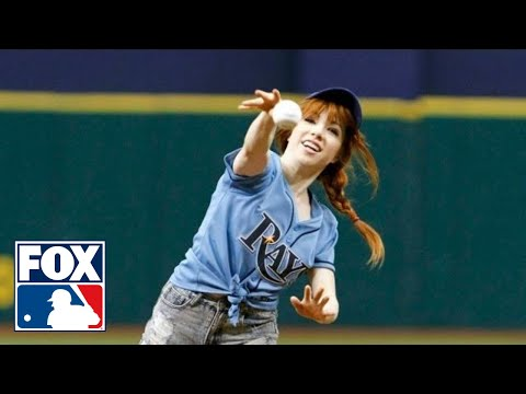 Carly Rae Jepsen Throws the Worst First Pitch in a Baseball Game to Date