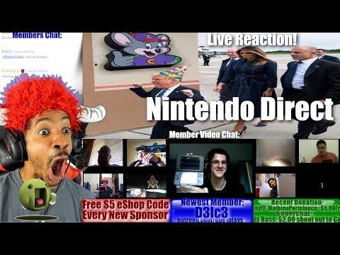 NINTENDO DIRECT LIVE REACTION!
