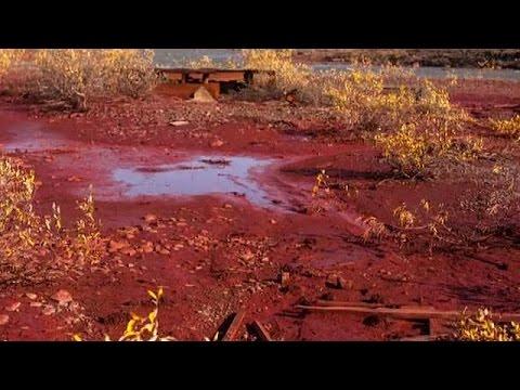 Ρωσία: Επιχείρηση εξόρυξης νικελίου ομολογεί για τη μόλυνση που «κοκκίνησε» ποταμό στη Σιβηρία
