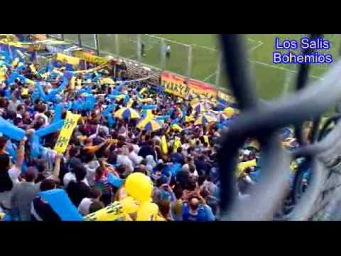 Atlanta 1 - River 0, Entrada de la hinchada, Gol de Lorefice y el festejo filmado desde la tribuna - La Banda de Villa Crespo - Atlanta