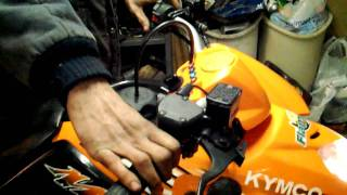 9. KYMCO mongoose cold start