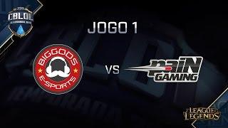 BG vs paiN, game 1