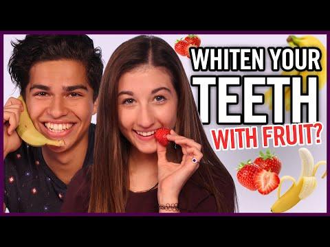 DIY Teeth Whitening – Makeup Mythbusters w/ Maybaby and Alex Aiono
