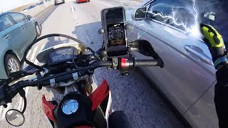 Stupid, Crazy & Angry People Vs Bikers | ROAD RAGE | MULTIPLE MIRROR SMASHES [Ep.#127]