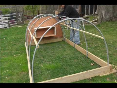 Making a Chicken Tractor