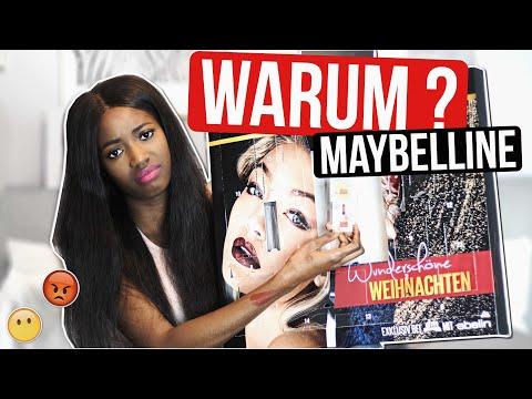 Warum Maybelline? Adventskalender 2017 Unboxing   DM Neuheit Live Test mit Giulia Groth + Verlosung
