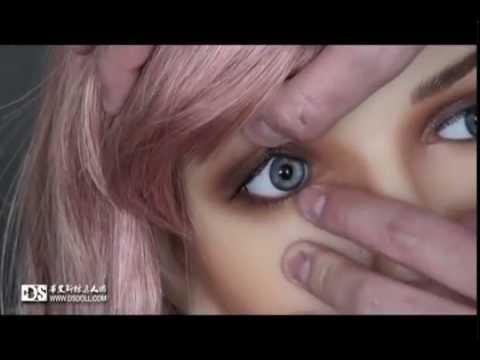 Bewegen der Augen einer Doll von Doll Sweet