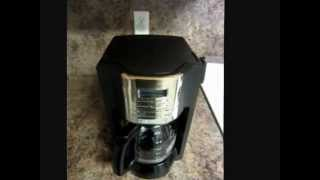 How To Make Coffee -  Mr_Coffee 12 Cup Programmable Coffee Maker
