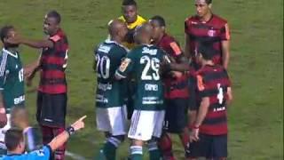 Palmeiras 0 x 0 Flamengo. Kleber não